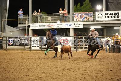 Steer Wrestling Thursday 9-30-21