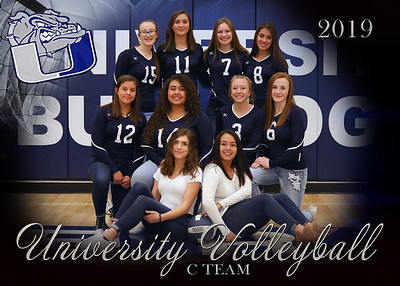 UH Volleyball Team photos
