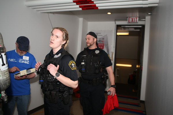 2019 Fight For Air Climb Law Enforcement