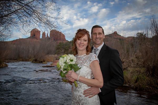 Shawna & Eric's Sedona Wedding