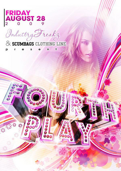 Galaxy Events & Industry Freakz Present Fourth Play w Special Guest Colby O'Donis @ Sabor Tapas Bar & Lounge  10.23.09