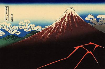 36 Views of Mount Fuji (Hokusai)