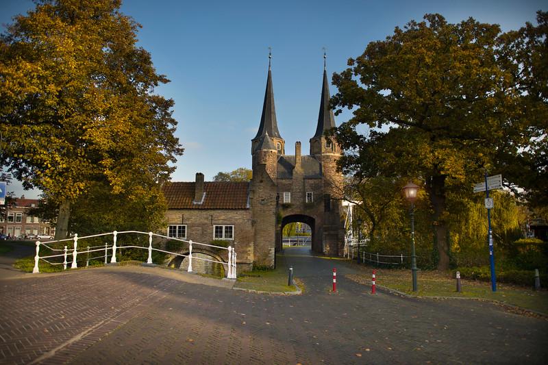 A beautiful castle like setting in Autumn