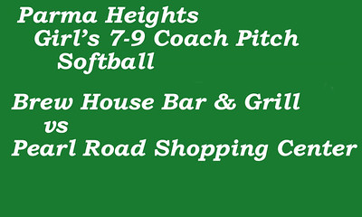 170719 Parma Heights Girl's 7-9 Coach Pitch Soft Ball Field 3