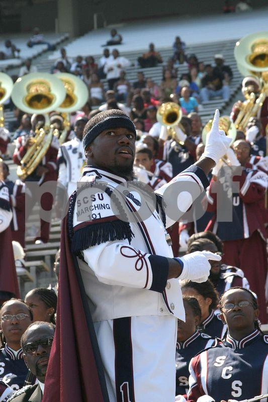 The Marching 101 vs. Alabama State Hornets 9/3/05 part 1