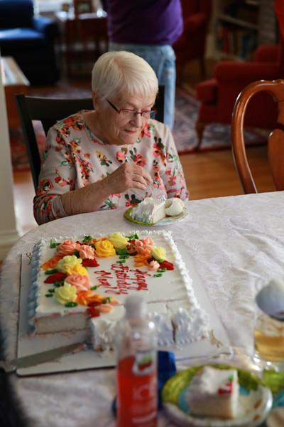 Momma White's Birthday lunch