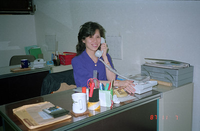 Henry Fan's office staff member.