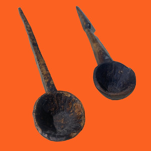 Antique Indian Ladles