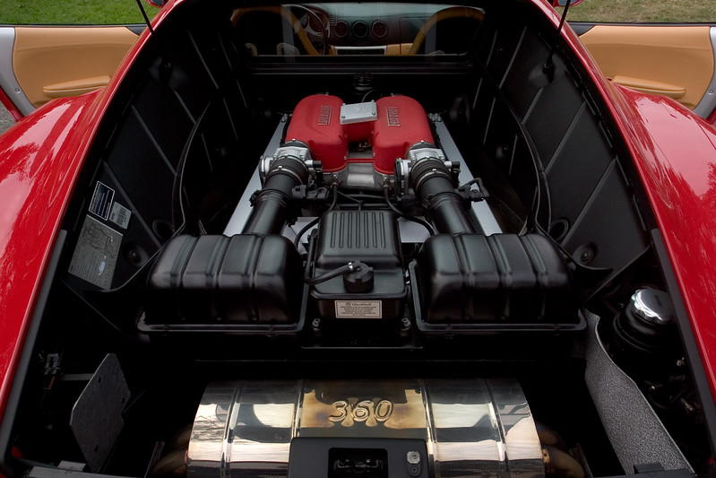 Ferrari engines are a thing of beauty