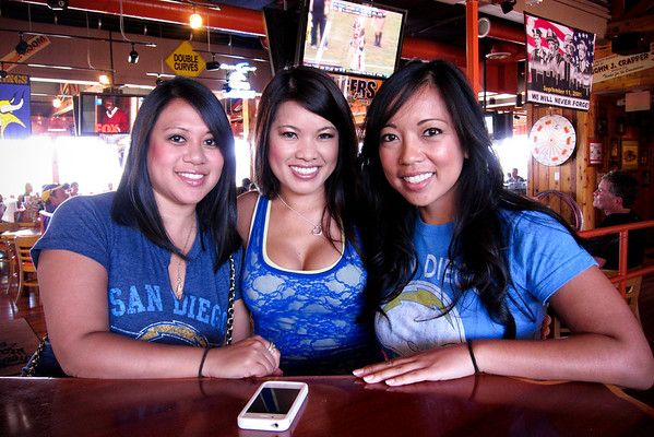 Chargers vs Broncos @ hooters RB