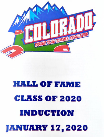 Hall of Fame - Class of 2020 Induction - January 17 2020