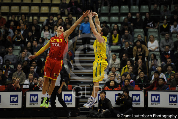 Youyi Games Game 3 Challenge Stadium Perth/ Australian Boomers vs China. 09/06/2012