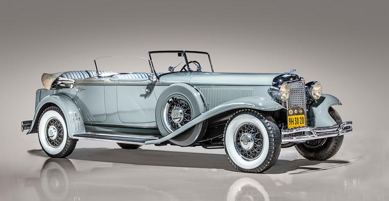 1931 Chrysler CG Imperial Dual Cowl Phaeton.