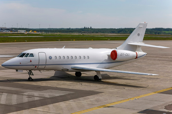 OY-CKI - Dassault Falcon 2000