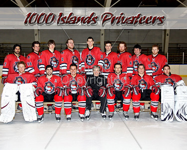 FHL 1000 Island Privateers 2010-11 Official Hockey Photos