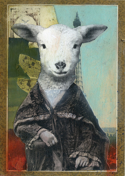 Lamb in Paris. SOLD