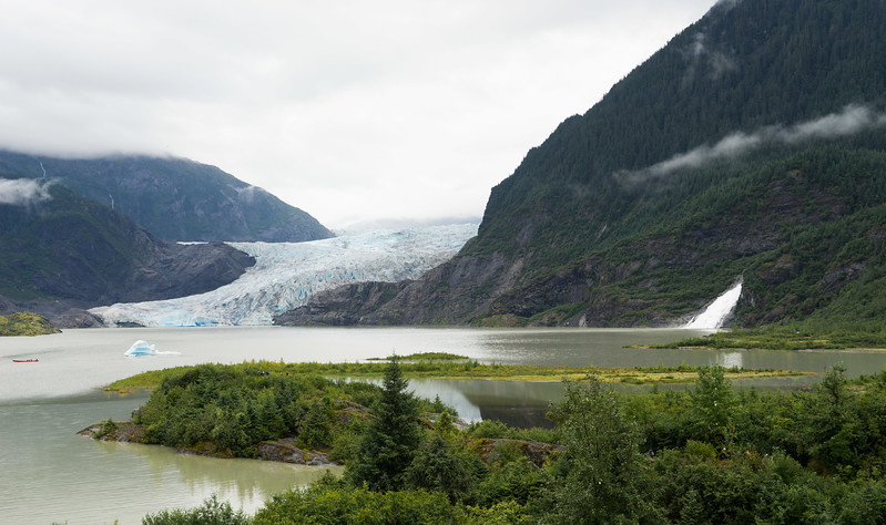 Mendenhall Glacier, north of Juneau