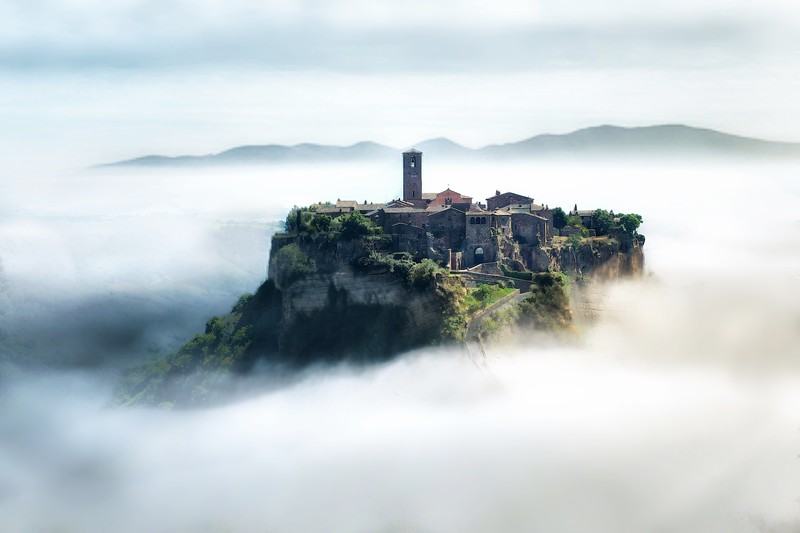 Misty Bagnoregio