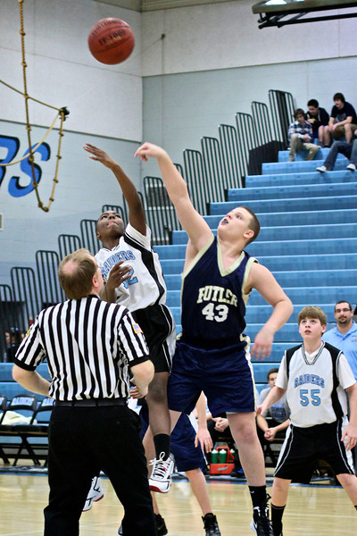 Seneca Valley BasketBall 1-31-12 7th 8th & JV