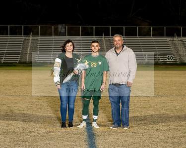 Acadiana Mens Soccer Senior Night