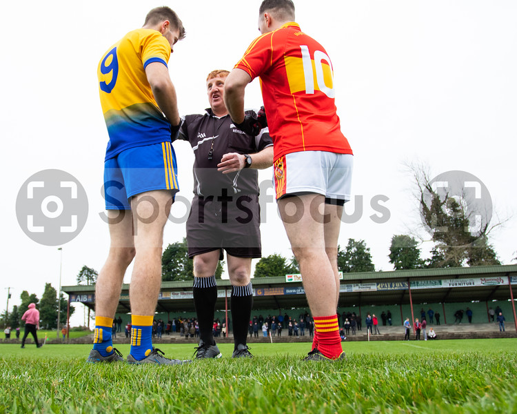 "10th November 2019 ""FBD Insurance"" Tipperary Intermediate Football County Final - Moycarkey Borris 0-11(11) vs Clonmel Og 1-6(9) at Leahy Park, Cashel, Co Tipperary."