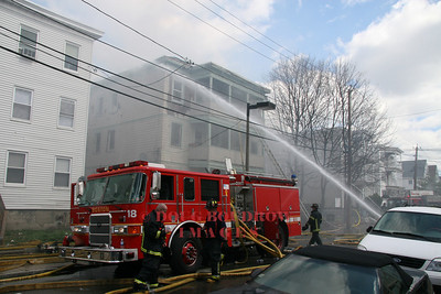 Boston, MA - 4th Alarm, 51 Colonial Ave, 4-14-08