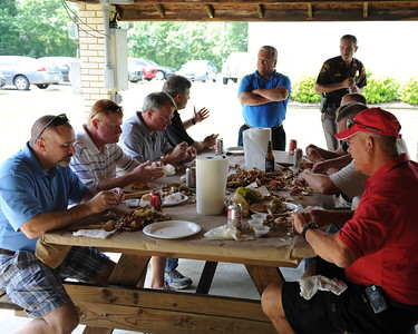 7/15/2010 FOP Sheriff Meeting Crab Feast