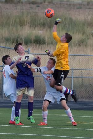 092115 Erie Var v Holy Family Soccer