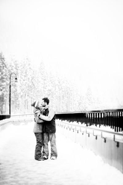 {Chris + Isabelle Engaged} Stevens Pass