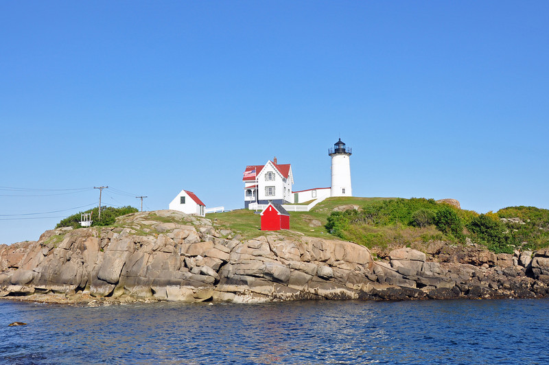 Low tide at Nubble Lighthouse