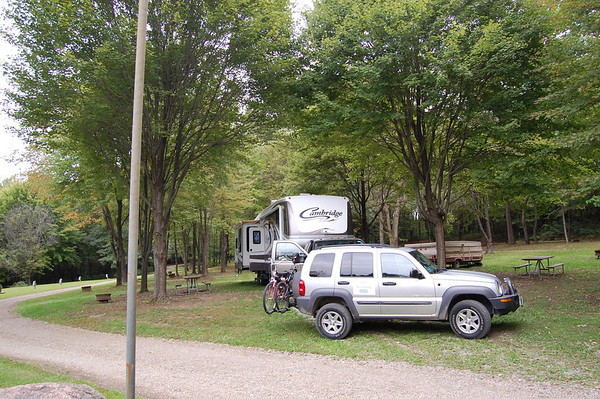 Journal Site 212: Rocky Springs Campground