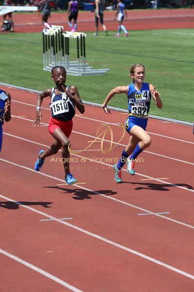 2017 AAU DistQual: 11 Girls 100m