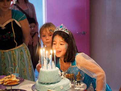 Eva's 6th Birthday at Polka Dots