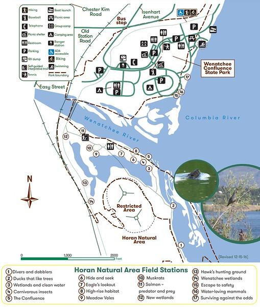 Wenatchee Confluence State Park (Horan Natural Area)