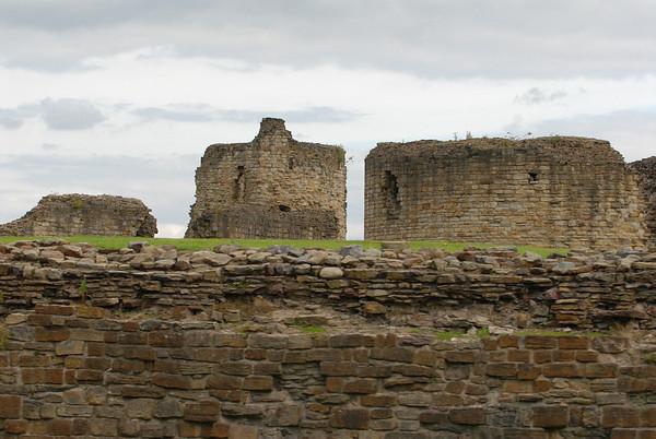 Flint Castle, Flint, Wales, August 08