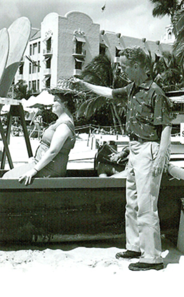 1955 Norman Rockwell and the Outrigger Canoe Club