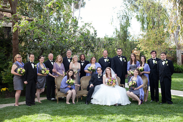 Jessica and John - Twin Oaks House and Gardens