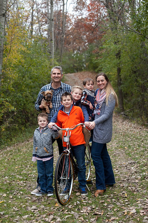 The Schoenberger Family - Fall 2017