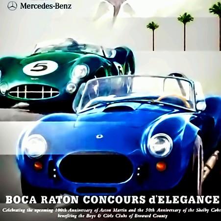 Boca Raton Concours d'Elegance ~ Sunday February 22, 2015 Boca Raton Resort & Club and the Boca Aviation Hanger Party Friday evening