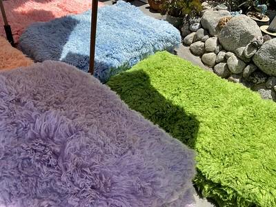 90x150センチ特大Flokati羊毛