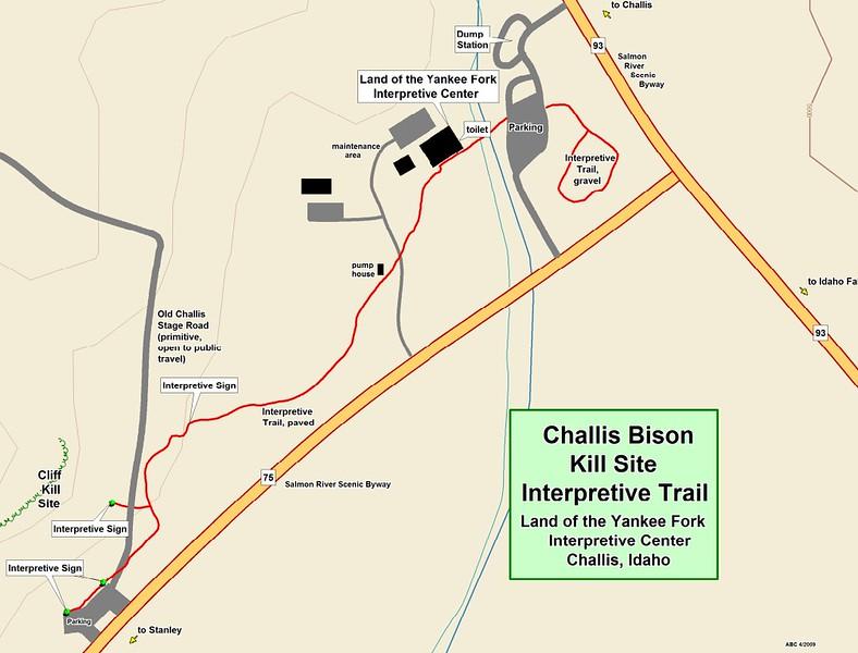 Land of the Yankee Fork State Park (Challis Bison Kill Site Interpretive Trail)