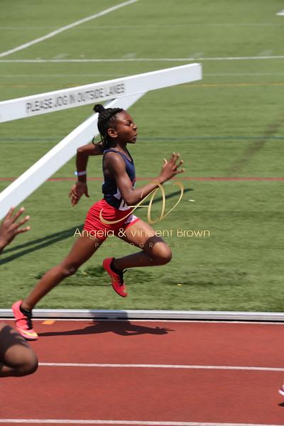 2017 AAU DistQual: 10 Girls 100m