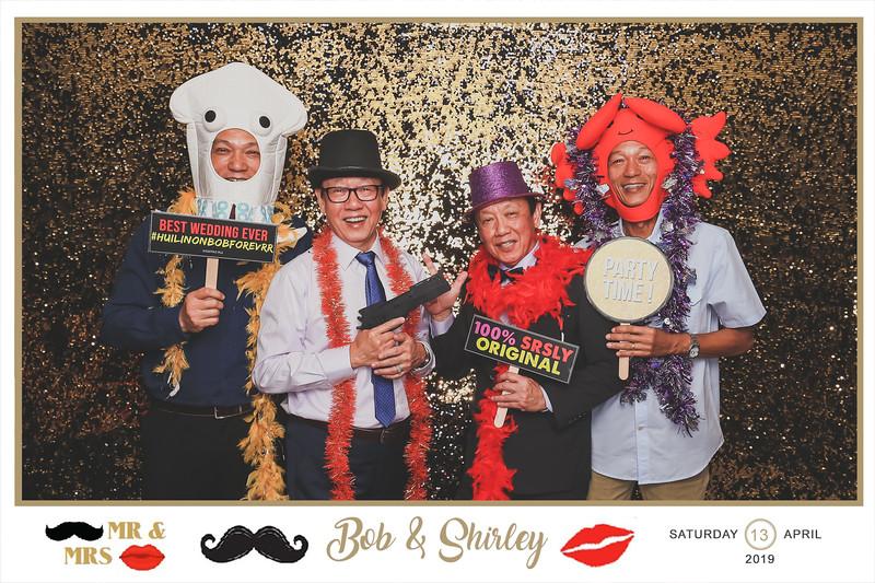 Wedding of Bob & Shirley | © SRSLYPhotobooth.sg
