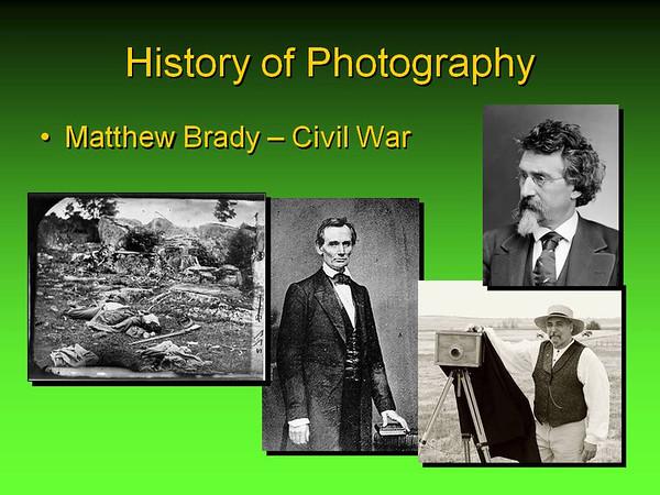 Photography Class Presentation