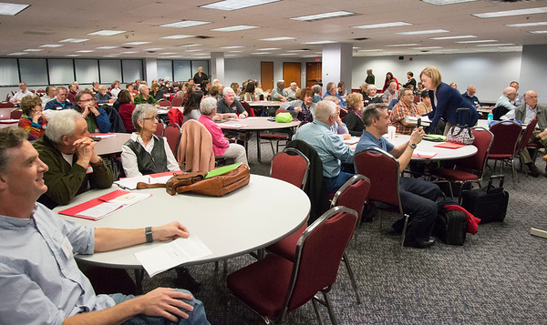 10/18/19 Wesley Bunnell | StaffrrIt was a packed house for members of the Polish Genealogical Society which met at the CCSU ITBD on Friday night.