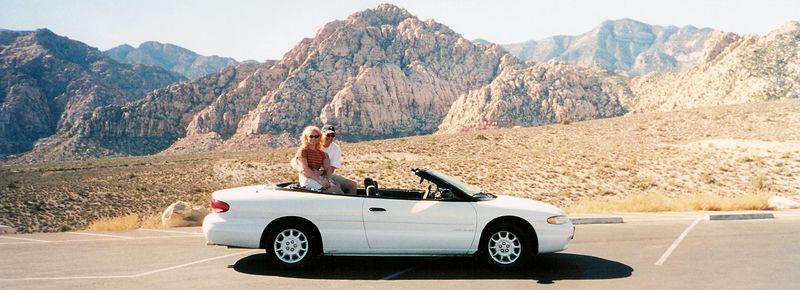 Jodi & Brett Desert Car.jpg