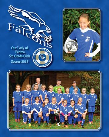 2013 soccer 5th Gr Girls