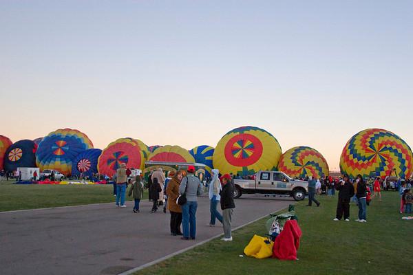 2007 Balloon Fiesta - Mass Ascension