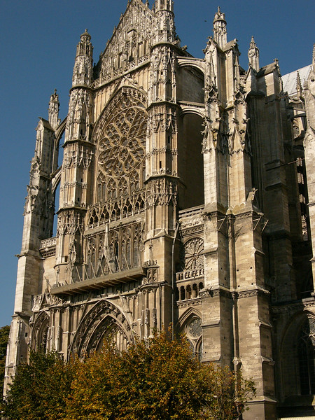 Beauvais, Saint-Pierre Cathedral South Facade
