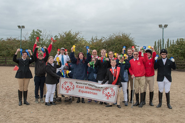 Special Olympics East Midlands - Autumn Regional Competition - Mon 08 Oct 18